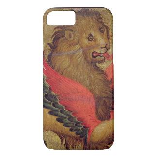 Le lion de St Mark (huile sur le panneau) Coque iPhone 8/7