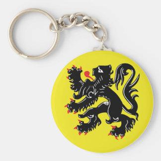 Le lion flamand porte-clés de Flandre