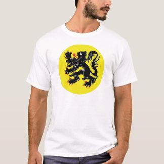 Le lion flamand t-shirt de Flandre grand insigne