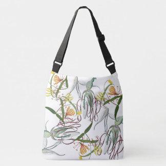 Le lis de gloire d'orchidées fleurit le sac