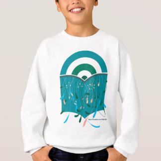 Le livre avec l'arc-en-ciel badine la chemise sweatshirt