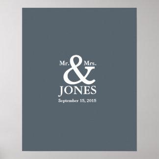 le livre de signature d'invité de mariage posters