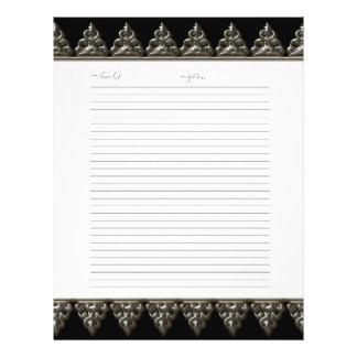 Le livre d'invité de mariage pagine le remous baro prospectus 21,6 cm x 24,94 cm
