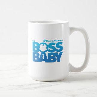Le logo de bébé de patron mug
