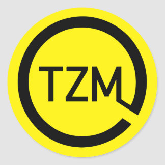 Le logo de mouvement de goût de l'époque sticker rond