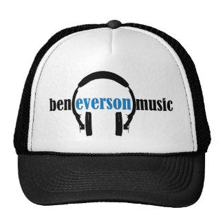 Le logo de musique de Ben Everson semble classique Casquettes