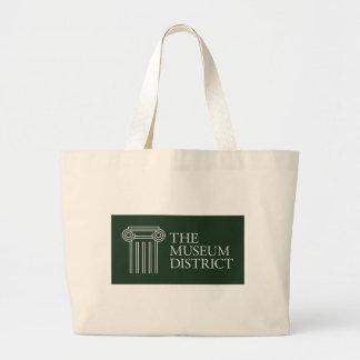 Le logo de secteur de musée grand tote bag