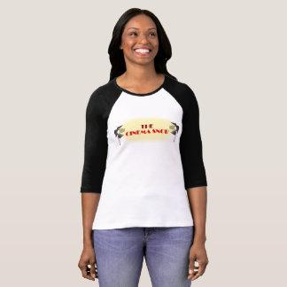 Le logo snob de cinéma - 3/4 douille des femmes t-shirt
