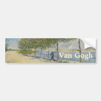 Le long de la Seine par Vincent van Gogh Adhésif Pour Voiture