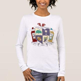 Le long T-shirt gainé des femmes