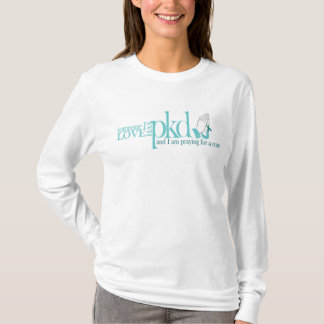 Le long T-shirt PKD de douille prient pour un