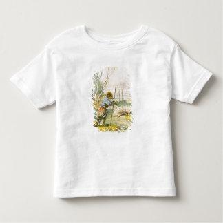 Le loup en tant que berger t-shirt pour les tous petits