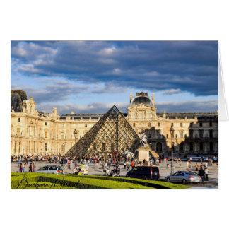 Le Louvre, carte de Paris