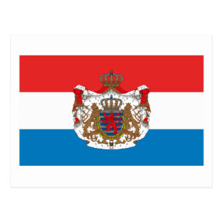 Le Luxembourg marquent la carte postale de COA de