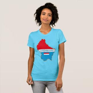 Le Luxembourg tracent l'habillement de chemise de T-shirt