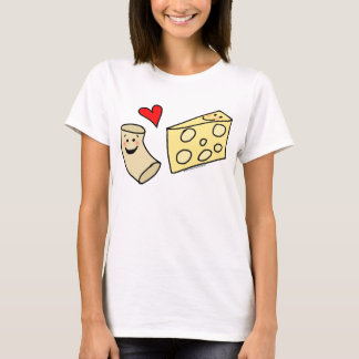 Le Mac aime le fromage, macaronis mignons drôles + T-shirt