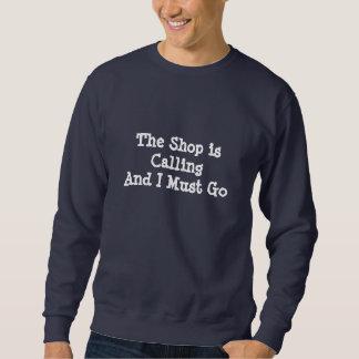 Le magasin appelle - sweatshirt foncé