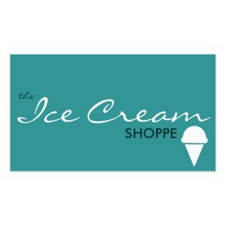 le magasin de CRÈME GLACÉE couleur personnalisabl Cartes De Visite Professionnelles