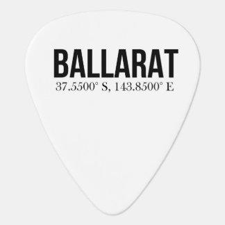 Le magasin de tourisme de Ballarat coordonne Onglet De Guitare