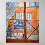 Le magasin des Porc-Bouchers de Van Gogh de la fen Posters