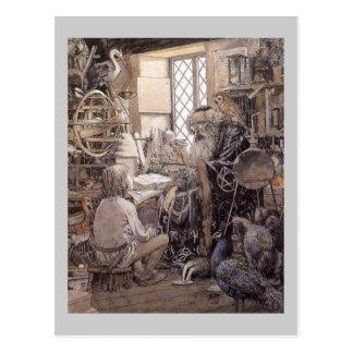Le magasin magique carte postale