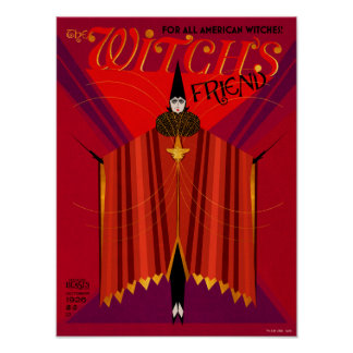 Le magazine d'octobre de l'amie de la sorcière posters