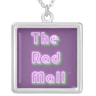 "Le mail collier en suspens de rad de ""rétro"" logo"
