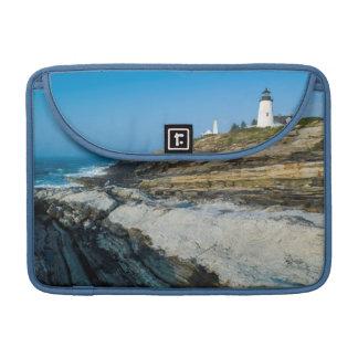 Le Maine, point de Pemaquid, phare de point de Poche Pour Macbook Pro