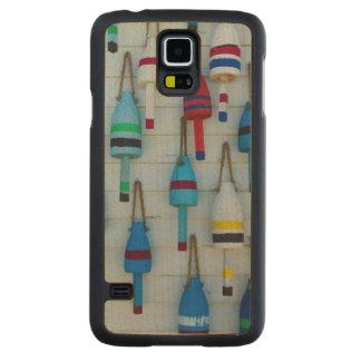 Le Maine, Stonington, balises décoratives de Coque Galaxy S5 En Érable