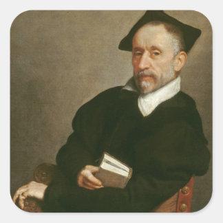 """Le """"maître de Titian"""", C. 1575 Sticker Carré"""