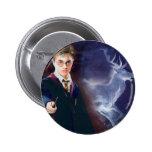 Le mâle Patronus de Harry Potter Badge Rond 5 Cm