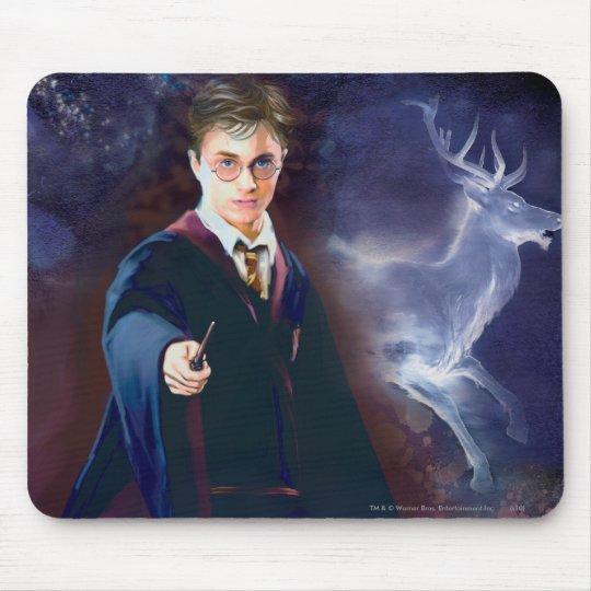 Le mâle Patronus de Harry Potter Tapis De Souris