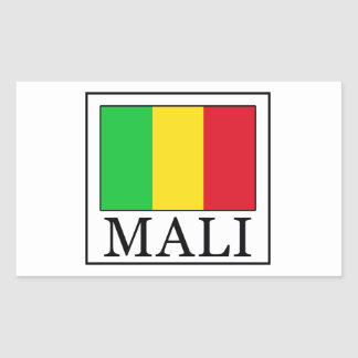 Le Mali Sticker Rectangulaire