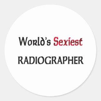 Le manipulateur le plus sexy du monde sticker rond