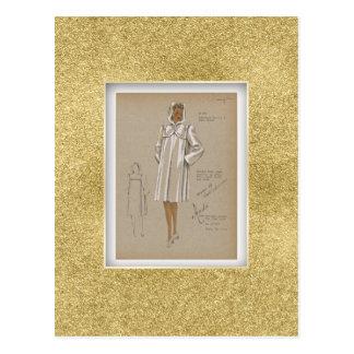 Le manteau Boxy à capuchon empoche de mode des Carte Postale