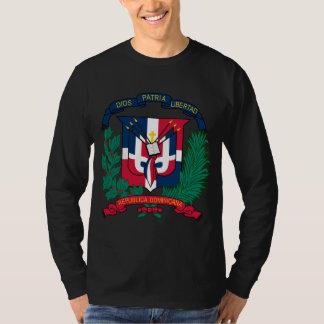 Le manteau de la République Dominicaine des bras T-shirt