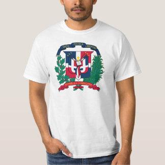 Le manteau de la République Dominicaine des bras T-shirts