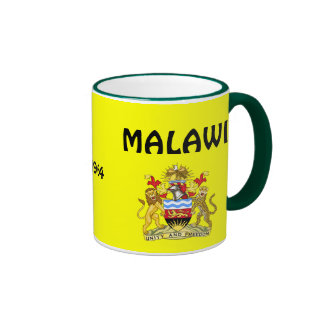 Le manteau de MALAWI* des bras des armoiries Mug Ringer