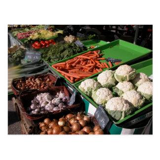 Le marché de l'agriculteur, Louans, Bresse Carte Postale