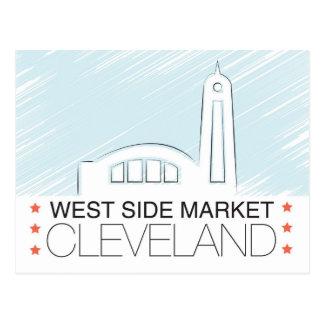 Le marché de Westside de la carte postale de