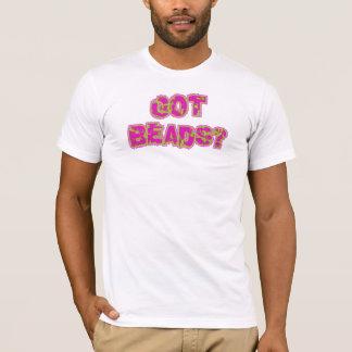 Le mardi gras a obtenu des perles t-shirt