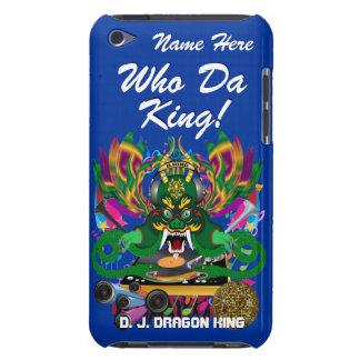 Le mardi gras D J Dragon le Roi vue veuillez lais Étuis Barely There iPod