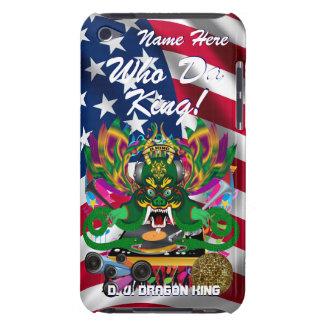 Le mardi gras D J Dragon le Roi vue veuillez lais Coque Case-Mate iPod Touch