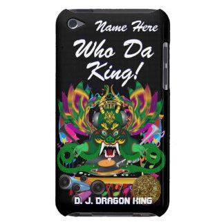 Le mardi gras D J Dragon le Roi vue veuillez lais Coque Barely There iPod