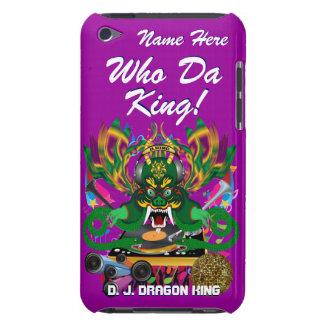 Le mardi gras D J Dragon le Roi vue veuillez lais Étui iPod Touch