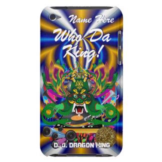 Le mardi gras D J Dragon le Roi vue veuillez lais Coques iPod Case-Mate