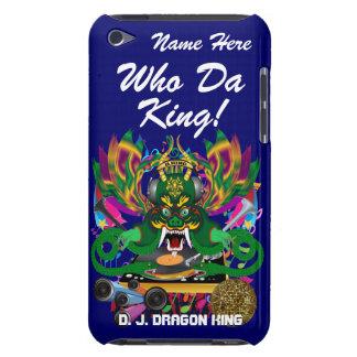 Le mardi gras D J Dragon le Roi vue veuillez lais Coques Barely There iPod