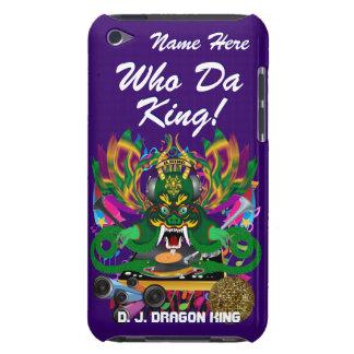 Le mardi gras D J Dragon le Roi vue veuillez lais Coque iPod Case-Mate