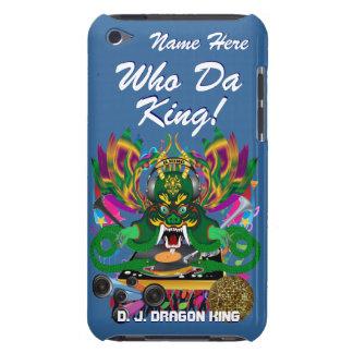 Le mardi gras D J Dragon le Roi vue veuillez lais Coques iPod Touch