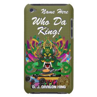 Le mardi gras D J Dragon le Roi vue veuillez lais Coque iPod Touch